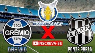 Assista os Melhores momentos e gols do jogo Grêmio 3 x 1 Ponte Preta (16/07/2017) Campeonato Brasileiro 2017 - 14° Rodada...