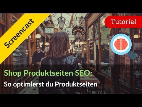 Produktseiten SEO für Online-Shops: 8 Tipps für bessere Shop SEO