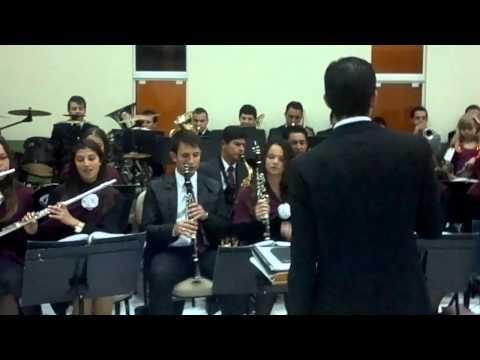 BANDA ROSA DE SARON DA IGREJA ASSEMBLEIA DE DEUS PAPANDUVA-RIO BRANCO DO SUL PR