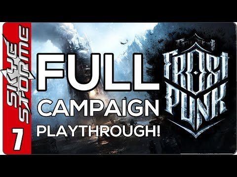 Frostpunk Full Campaign - EP 7 Rise of the Machines!