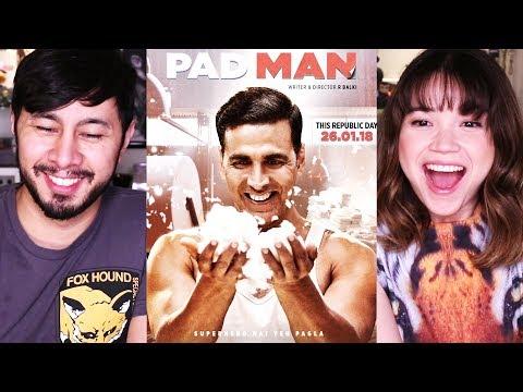 Download PADMAN   Akshay Kumar   Sonam Kapoor   Trailer Reaction! HD Mp4 3GP Video and MP3