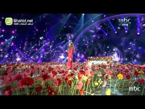 نانسي عجرم تغني في Arab Idol