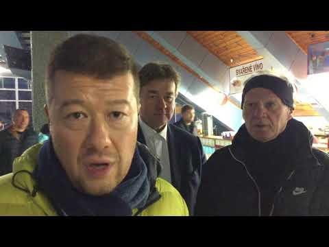 Tomio Okamura: Na hokeji v Hradci Králové