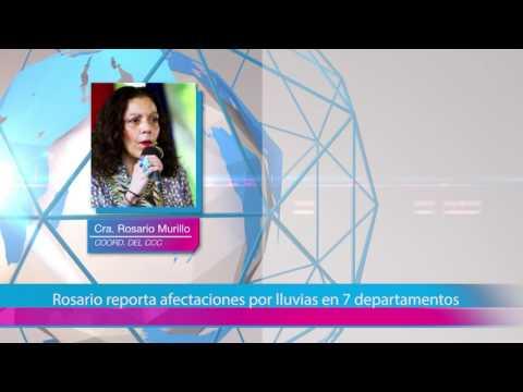 Rosario reporta afectaciones por lluvias en 7 departamentos