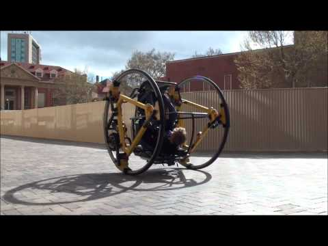 Edward - This project by students in the School of Mechanical Engineering, the University of Adelaide involved the construction of a human operated diwheel called EDW...