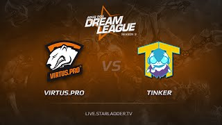 TTinker vs Virtus.Pro, game 1