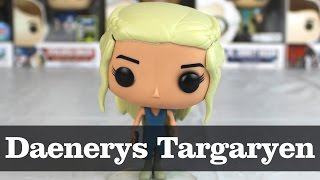Here's the breaker of chains in pop form! Daenerys Targaryen from the Game of Thrones pop line.