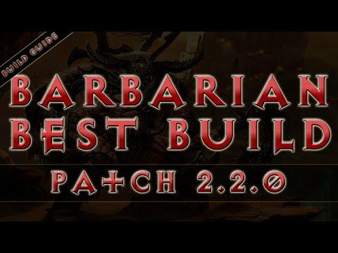 Diablo 3 - Barbarian Best Build (RoS Patch 2.2.0)