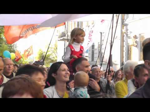 #МаршМира и провокаторы 21.09.2014 (видео)