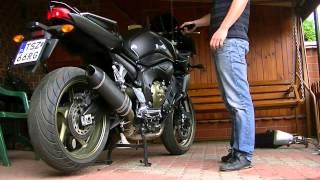 9. Yamaha FZ1 2009 - G&G exhaust sound