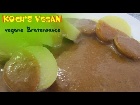 [Rezept] vegane Bratensoße selber machen - Bratensauce vegan - vegane Rezepte von Koch's vegan