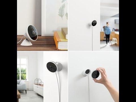 Logitech Circle 2 Indoor Outdoor Weatherproof Wired Home Security Camera
