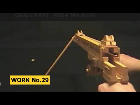 46 rounds Rubber Band Machine Gun/ oggcraft.jp