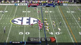 Tyrann Mathieu vs Georgia (2011)