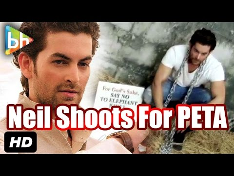 Neil Nitin Mukesh's Dashing Photoshoot For 'PETA'