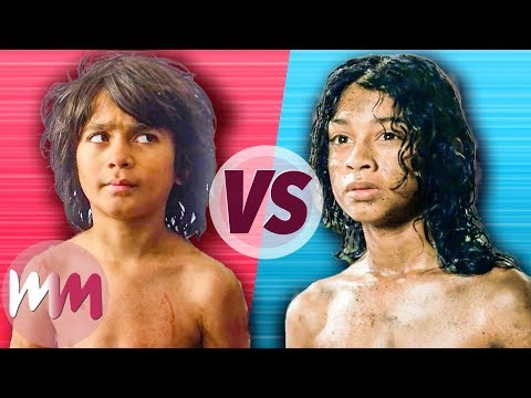 The Jungle Book (2016) VS Mowgli (2018)
