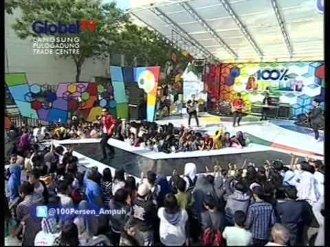 ATF band - Hanya Kamu : live performance 100% Ampuh Global TV