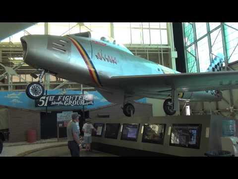 F-86 Sabre and Soviet MiG-15 Exhibit...