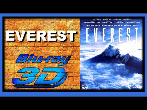 Everest (2015 Movie) 3D Blu-ray Review