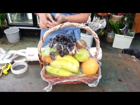 BuyFlower.sg - How to Make Fruit Basket | Buy Fruit Baskets & Flowers in Singapore