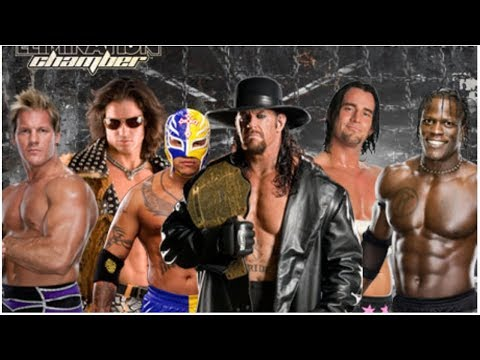 WWE Smackdown Elimination chamber 2010 Full Match || By Action Mania ||