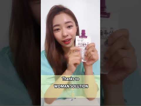 [Beauty Haul] CHUNHO Woman Solution (75ml × 5ea)
