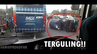 Video Naik Bus Primajasa Tasik-Jakarta (Klip)   Ada Kecelakaan!   Salip Kiri di Km 97 Cipularang MP3, 3GP, MP4, WEBM, AVI, FLV Mei 2018