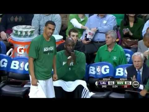 Celtics 14-3 3rd Quarter Run | Lakers vs Celtics | NBA 2012-13 Season 07/02/2013