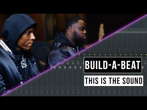 Making a Beat With Dubba AA & This Is The Sound | Build-A-Beat
