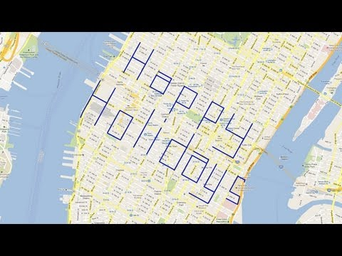The Best Holiday Greetings Are City-Sized
