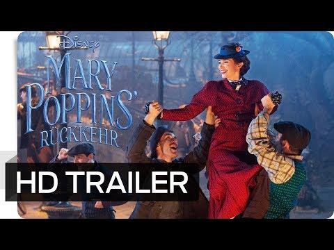 MARY POPPINS' RÜCKKEHR - Offizieller Trailer (deutsch/german) | Disney HD