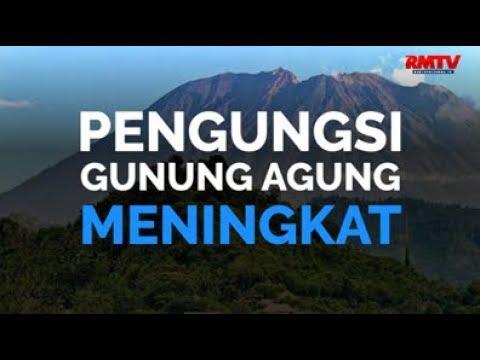 Pengungsi Gunung Agung Meningkat