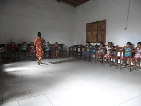 Falta de alimentação escolar para as crianças em Belagua no ano de 2014