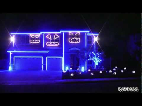 Halloween Light Show 2011 - LMFAO Party Rock