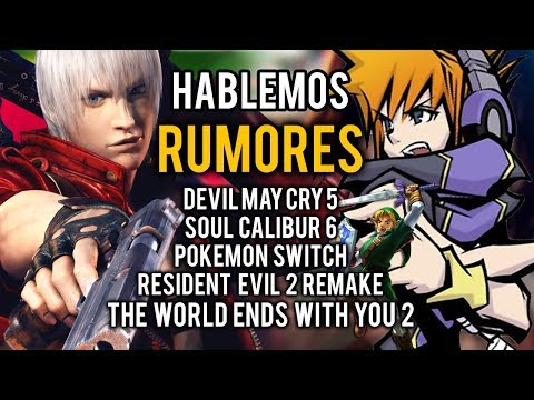 HABLEMOS: DEVIL MAY CRY 5, THE WORLD ENDS WITH YOU 2, POKÉMON SWITCH... Filtraciones y RUMORES