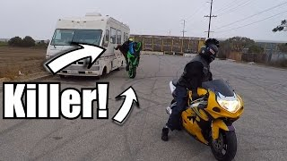 3. This Dude Is A Savage! | GSXR 600 vs GSXR 750