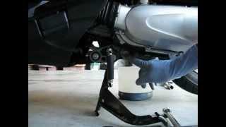 8. Honda NHX110 Oil Change