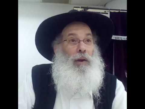 הרב זמרוני ציק ח&#039 כסלו