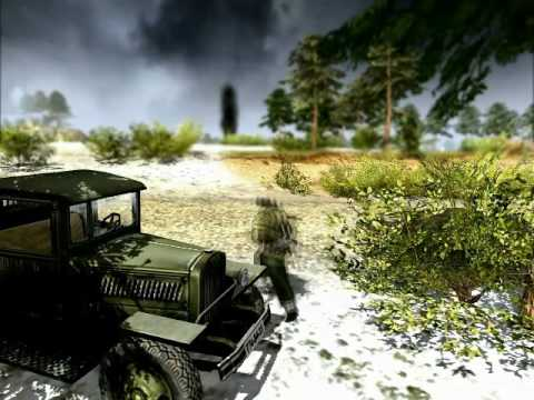 Men of War - World War Two real time video game trailer - PC