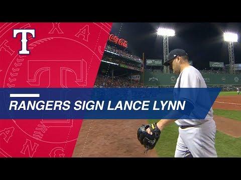 Video: RHP Lance Lynn enters free agent market