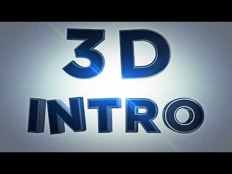 After Effects – 3D Intro erstellen Tutorial [GERMAN / DEUTSCH]