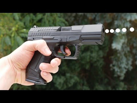 WALTHER P99 DAO Automatik Softair REVIEW