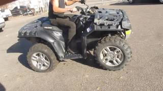 10. 2009 POLARIS SPORTSMAN XP 550 EFI MOTOR AND PARTS FOR SALE ON BAY