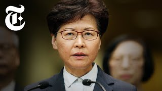 Video Who Is Carrie Lam? The Hong Kong Leader With Close Ties to China   NYT News MP3, 3GP, MP4, WEBM, AVI, FLV Agustus 2019