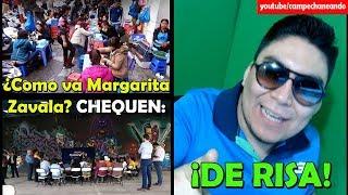 Video ¡Qué Pena! Margarita Zavala NADIE quiere ir a sus mitin - Campechaneando MP3, 3GP, MP4, WEBM, AVI, FLV Agustus 2018