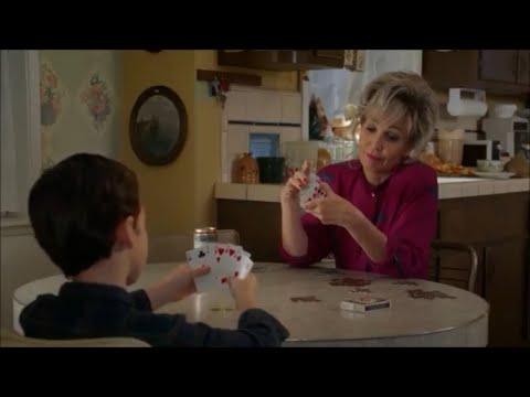 MeeMaw Teaches Young Sheldon How To Play Poker