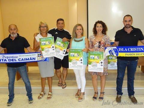 Presentación partido de Fútbol Solidario a beneficio de ARATI