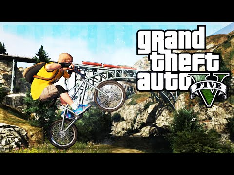 montage - GTA 5 BMX STUNTS