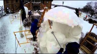 Lake Geneva (WI) United States  City new picture : 2014 US National Snow Sculpting