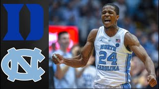 Duke Blue Devils vs UNC Tar Heels | College Basketball Highlights
